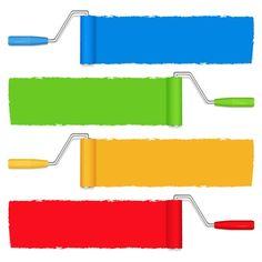 브랜드 컬러, 빨강, 노랑, 파랑, 초록, 삼성, 네이버