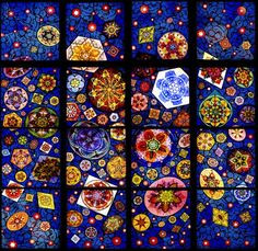 Judith Schaechter Stained Glass