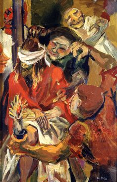 """""""Cristo deriso"""", 1938 Renato Guttuso"""