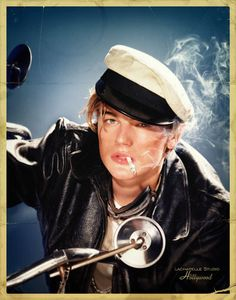 photography of Leo by David Lachapelle. if you want to see more funny, weird and cute photos of leo search david lachapelle David Lachapelle, Muse, Young Leonardo Dicaprio, Exhibition, Marlon Brando, Expositions, Creative Photography, Fashion Photography, Celebrity Photography