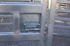 Spring Lever Latch Cattle Pens Ideas Cattle Gate
