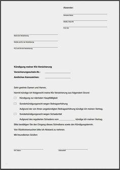44 Beste Kfz Versicherung Kundigen Vorlage Kostenlos Ideen In 2020 Kfz Versicherung Autoversicherung Kundigung Schreiben