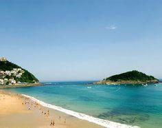 Bilbao Beach, Spain