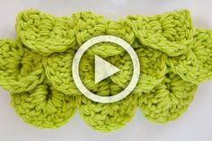 Hello everyone! Here is a video about How to Crochet Crocodile Stitch...
