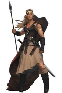 Viking Warrior Maiden