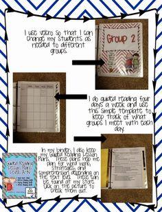 Classroom Freebies: Guided Reading Binder- Get organized!