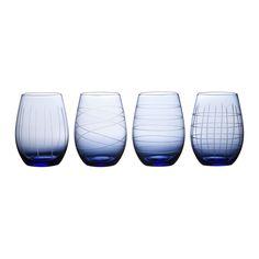 Tina Stemless Wine Glass