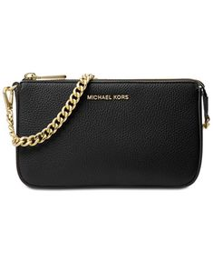 dd7d0923ffa9 Michael Kors Medium Chain Clutch & Reviews - Handbags & Accessories - Macy's