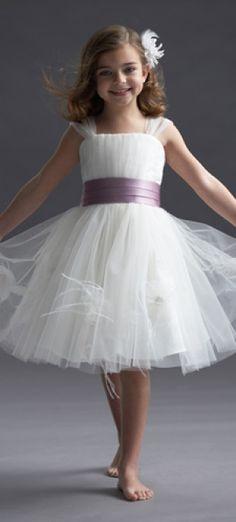 dress for a flower girl