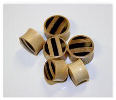Real gaugeNatural  woodhand madetribalplugsfaux by ANELAJADE, $12.99