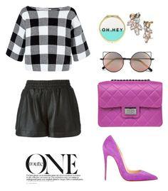 """The One."" by pinkdaisyprincess on Polyvore featuring moda, Hobbs, Christian Louboutin, Forever 21, Sea, New York, Linda Farrow, Design Inverso i Bar III"