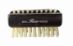 Hydrea London Dual Sided Rosewood Nail Brush Natural Bristle WRH1 Travel Size >>> New and awesome product awaits you, Read it now  : Travel Hair care