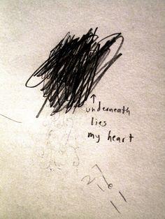 messy heart. imbi davidson