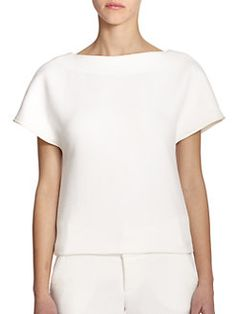 Alice + Olivia - Quilted Boxy Top