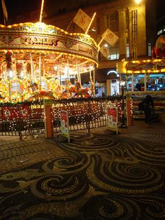 Carousel in the Square, Bournemouth Dorset, England