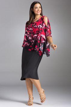 cbba5815a04 Plus Size - Sara Overlay Dress Overlays