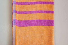 Very soft, double-sided, reversible Turkish bath towel that measures x Turkish Bath Towels