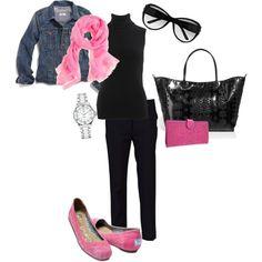Pops Of Pink :)