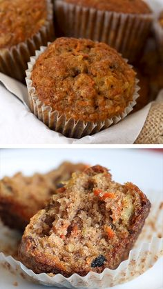 Fun Baking Recipes, Easy Cookie Recipes, Good Healthy Recipes, Muffin Recipes, Sweet Recipes, Cake Recipes, Dessert Recipes, Blueberry Oatmeal Muffins, Zucchini Carrot Muffins
