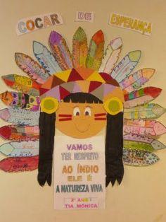 Dia do índio na educação infantil 1                                                                                                                                                                                 Mais
