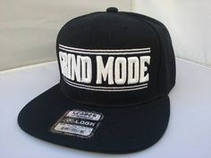 Hey, I found this really awesome Etsy listing at https://www.etsy.com/listing/286666521/black-grind-mode-snapback-hat-flat-bill