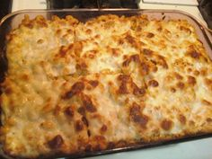 PIZZA CASSEROLE! So simple...1 box cooked elbow macaroni, mix with sauce, an egg, & 2 Tablespoons Tastefully Simple's Italian Garlic Bread Seasoning.  Layer in baking dish with pepperoni & lots of cheese & bake at 325 until brown & bubbly. YUM-O!! #pizza #casserole #tastefully #simple #denne