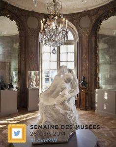 Musée Rodin @Musée Rodin Au 3e jour de la #MuseumWeek, partagez votre amour de #Rodin et de la #sculpture avec #LoveMW !
