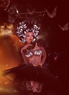 Morakini - Butterfly rising - On IMVU you can customize 3D avatars and chat rooms using millions of products available in the virtual shop and meet people from around the world. Capture the fun you are having and share it with others via the Photo Stream.