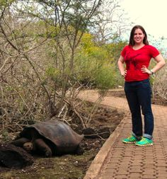 """""""I was only there for a week, so I knew I wasn't going to change the world. However, I worked with others to make a difference.""""  Meet Kristen, a hard-working young professional from Pennsylvania who joined the Forest Conservation and Sustainable Farming project in the Galapagos. Her words! #ForestConservation #SustainableFarming #VolunteerInGalapagos"""