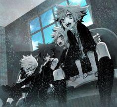 -Kingdom Hearts- Ventus, Vanitas, Roxas, Sora