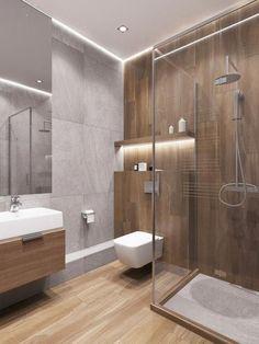 Amazing DIY Bathroom Ideas, Bathroom Decor, Bathroom Remodel and Bathroom Projects to help inspire your master bathroom dreams and goals. Wood Bathroom, Bathroom Layout, Bathroom Colors, Bathroom Lighting, Bathroom Ideas, Bathroom Organization, Serene Bathroom, White Bathroom, Shower Ideas