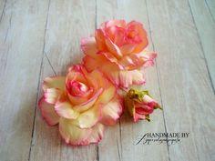 Scrap, Felt, Rose, Flowers, Plants, Jewelry, Felting, Pink, Jewlery