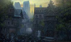 ArtStation - 15 Assassin's Creed Unity, Felicien Nourry