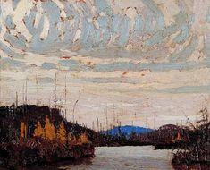 Tom Thomson Catalogue Raisonné   Dawn on Round Lake [Kawawaymog Lake], Fall 1915 (1915.116)   Catalogue entry
