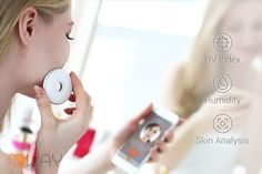 'WAY' is a Beauty Device That Collects and Analyzes Data About Your Skin #skincare trendhunter.com