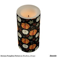 Autumn Pumpkins Pattern Flameless Candle Cloth Napkins, Paper Napkins, Flameless Candles, Pillar Candles, Fall Pumpkins, Thanksgiving Decorations, Table Runners, Decorating Your Home, Keep It Cleaner