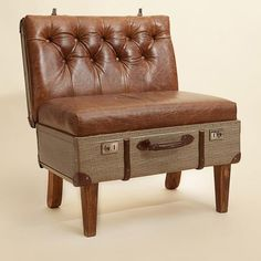 recycling old suitcase for handmade furniture and decoration ideas