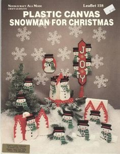 PC. SNOWMAN FOR CHRISTMAS 1/6