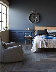 Blending blues and greys