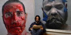 Eloy Morales Artist Painting