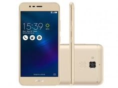 """Smartphone Asus ZenFone 3 Max 16GB Gold - Dual Chip 4G Câm. 13MP + Selfie 5MP Tela 5.2"""""""