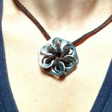 DIY: Pop Tab Pendant Necklace #creativereuse #upcycle