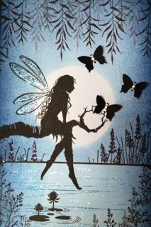 Wendy's Card Craft Lavinia Stamps Cards, Fairy Silhouette, Gothic Fantasy Art, Fairy Pictures, Tampons, Fairy Art, Gravure, Filofax, Faeries