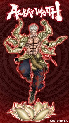 Asura's wrath by goukiyan on DeviantArt Character Drawing, Game Character, Comic Books Art, Comic Art, Asura's Wrath, Ryu Street Fighter, Madara Uchiha, Military Art, Dieselpunk