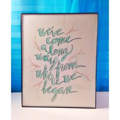 See You Again - watercolor