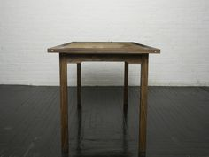 Walnut and Spalted Maple Kitchen Table from Boles Studio