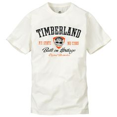 Timberland Men's Earthkeepers Built on Heritage T Shirt Style 2753J | eBay