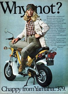 Chappy from Yamaha - 1976