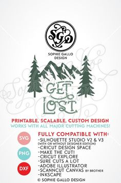 Mountains Woods & Trees Cut SVG, DXF & PNG files instant download, printable, scalable custom design! WHAT YOU'LL GET ~ 3 files: 1 SVG file that is compatible with Silhouette Studio, Cricut Design Space, CorelDRAW, Adobe Illustrator, Inkscape, Making the Cut, Sure Cuts A lot, and