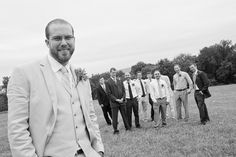 Groomsmen | causal shot | photojournalistic wedding photography Bridal Parties, Party Pictures, Groomsmen, Suit Jacket, Breast, Wedding Photography, Unique, Fashion, Moda